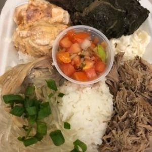 Hawaiian Combo W/Spicy Ahi Poke