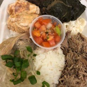 Hawaiian Combo w/Spicy PokeGarlci