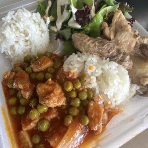 Pork Guisantes & Chicken Adobo